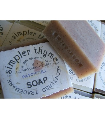 patchouli herbal soap