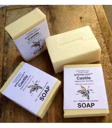 100% extra virgin olive oil castile soap fragrance free unscented