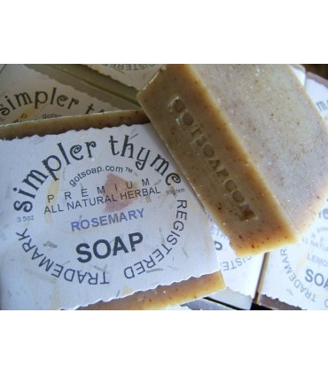 rosemary herbal soap