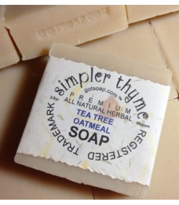 tea tree herbal  soap