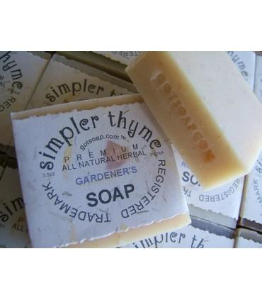 gardener's herbal soap
